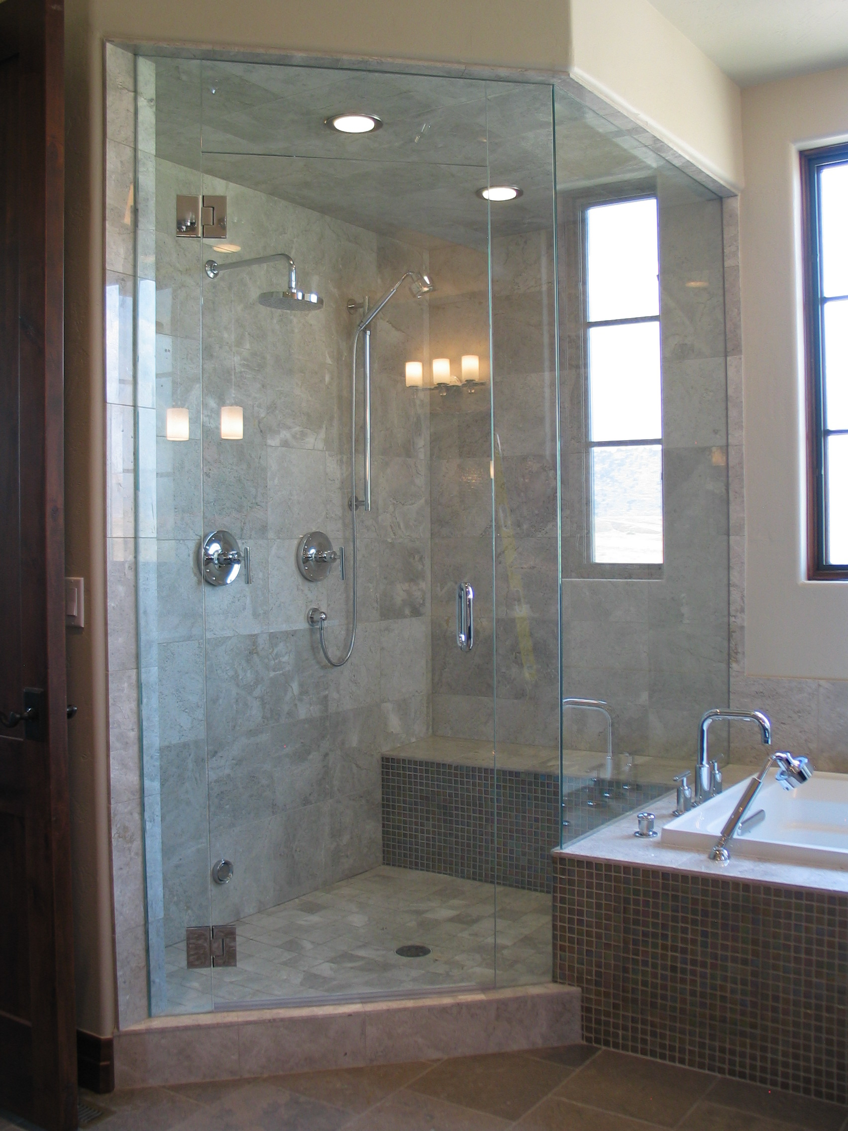 Glass Steam Shower Enclosure